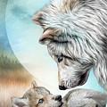 Mama And Her Pup by Carol Cavalaris