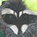 Mamma Raccoon  by Nicki Bennett
