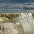 Mammoth Hot Springs - Yellowstone by Sandra Bronstein