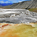 Mammoth Hot Springs1 by Hughes Country Roads Photography