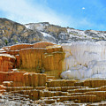 Mammoth Hot Springs4 by Hughes Country Roads Photography