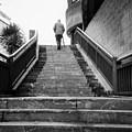 Man And Stairs by Nacho Vega