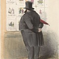 Man For A Showcase With Prints, Anonymous, 1810 - C. 1900 by Artistic Rifki