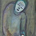 Man Holding Bird by Katt Yanda