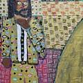 Man In A Golden Suit by Aj Watson