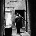 Man In Paris Alley by Bruce Chevillat