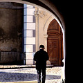 Man In The Archway by Todd Fox