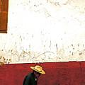 Man On A Patzcuaro Street by Mexicolors Art Photography