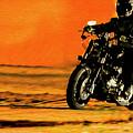 Man On Bike by Akin Samuel