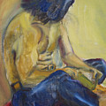 Man Reading by Lessandra Grimley