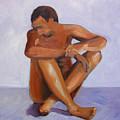 Man Study by Nancy Merkle