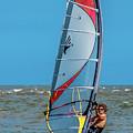 Man Wind Surfing by Darryl Brooks