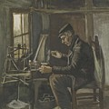Man Winding Yarn Nuenen, May - June 1884 Vincent Van Gogh 1853  1890 by Artistic Panda