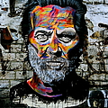 Man With Colourful Face by Caroline Reyes-Loughrey