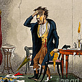 Man With Excruciating Headache, 1835 by Wellcome Images