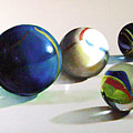 Man With Glass Balls  by Camilo Lucarini