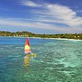 Mana Island Lagoon by Himani - Printscapes