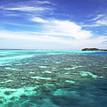 Mana Island Waters by Himani - Printscapes