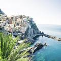 Manarola Cinque Terre Italy by Pavel Kasak