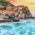 Manarola - Cinque Terre National Park - Liguria - Italy by Luciano Mortula