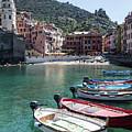 Manarola In Cinque Terre Italy  by John McGraw