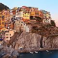 Manarola Panorama In Cinque Terre  by Songquan Deng