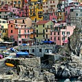 Manarola Up Close by Frozen in Time Fine Art Photography