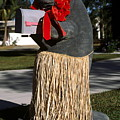 Manatee Mailbox by Sally Weigand
