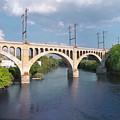 Manayunk Rail Road Bridge by Bill Cannon