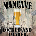 Mancave Locked And Loaded by Mindy Sommers