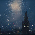 Manchester At Night by Ashley Haack