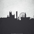 Manchester England Cityscape 19 by Aged Pixel