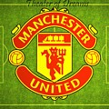 Manchester United Theater Of Dreams Large Canvas Art, Canvas Print, Large Art, Large Wall Decor by David Millenheft