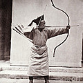 Manchu Archer, 1874 by Wellcome Images