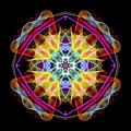 Mandala 3309a by Rafael Salazar