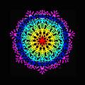 Mandala 7 by Galina Lavrova
