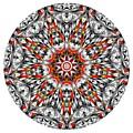 Mandala - Amulet 873 For Those Born In ..... by Marek Lutek