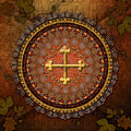Mandala Armenian Cross by Bedros Awak