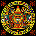 Mandala Azteca by Roberto Valdes Sanchez