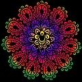 Mandala By Lamplight by Isabella Howard