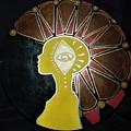 Mandala Mohawk  by Kayanna South