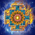 Mandala Shiva by Mark Myers