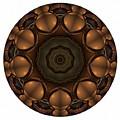 Mandala - Talisman 1392 by Marek Lutek