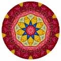 Mandala - Talisman 1404 by Marek Lutek