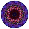 Mandala - Talisman 1405 by Marek Lutek