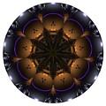 Mandala - Talisman 1430 by Marek Lutek