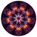 Mandala - Talisman 1432 by Marek Lutek