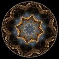 Mandala - Talisman 1445 by Marek Lutek