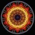 Mandala - Talisman 1452 by Marek Lutek
