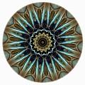 Mandala - Talisman 1457 by Marek Lutek